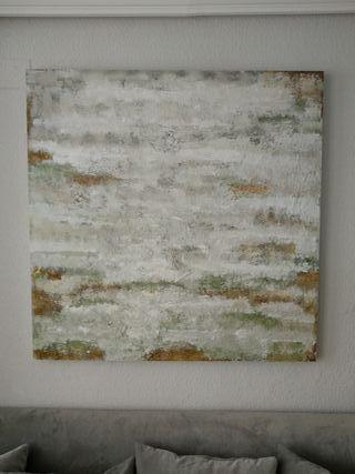 Cuadro abstracto Salón