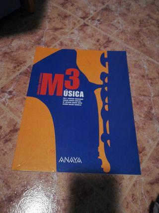 Libro Música ANAYA M3 secundaria