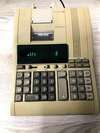 Calculadora olympia CPD5212