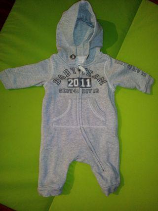 0-1 mes Buzo bebé