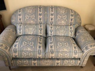 Juego sillones color azul