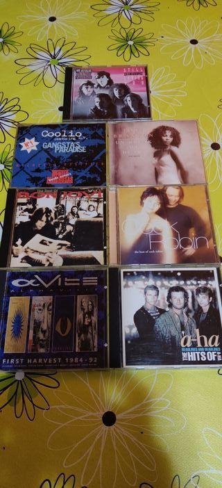 Cds Originales Clásicos de los 80.