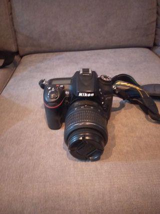 Cámara de fotos Nikon D7100