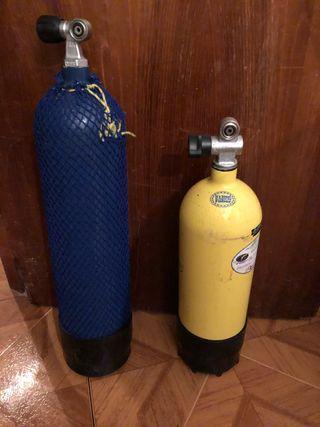 Botellas buceo 10 y 8 litros