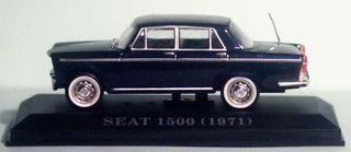 MAQUETA SEAT 1500. Escala 1/43