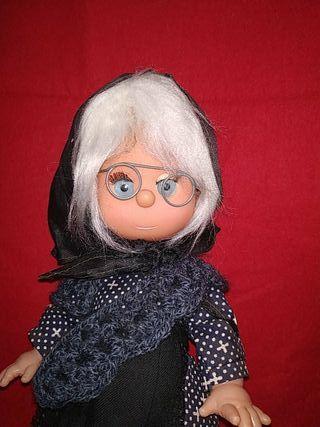 muñeca abuelita de los años 70