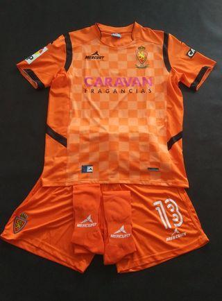 camiseta portero real Zaragoza 2015 Mercury kit l