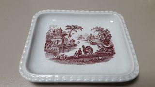 Bandeja de Ceramica la cartuja de Sevilla