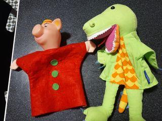 puchinelis/titelles/marionetas