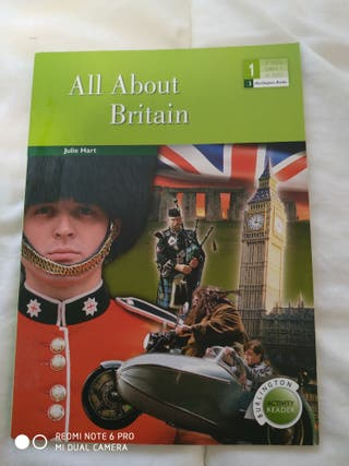 Libro: All about Britain (Inglés)