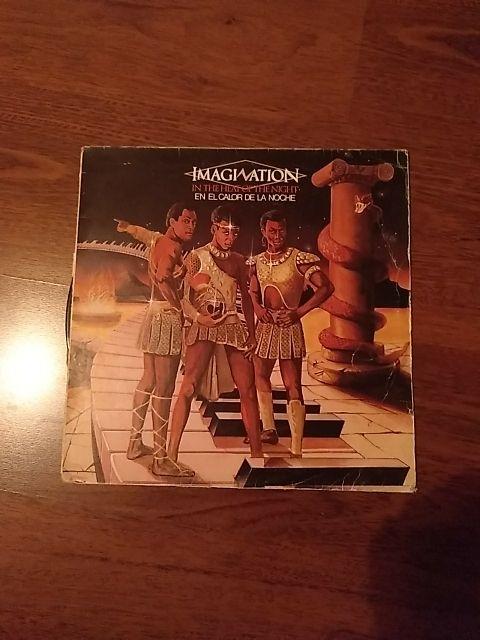 Vinilo de Imagination - In The Heat of The Night