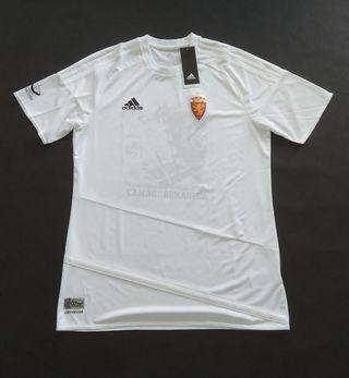 camiseta real Zaragoza la romareda 2018 nueva m