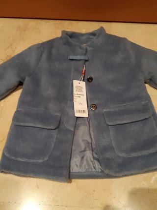 Abrigo impermeable ni/ña NEWNESS Azul marino