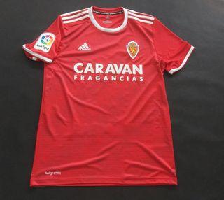 camiseta real Zaragoza match worn ros 2018 2019