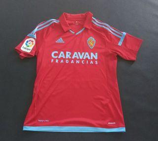 camiseta zaragoza match worn 2018 Vinicius m