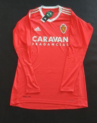 camiseta real Zaragoza 2018 Portero nueva etiqueta