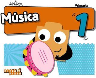 NUEVO a ESTRENAR Música 1° Primaria Anaya