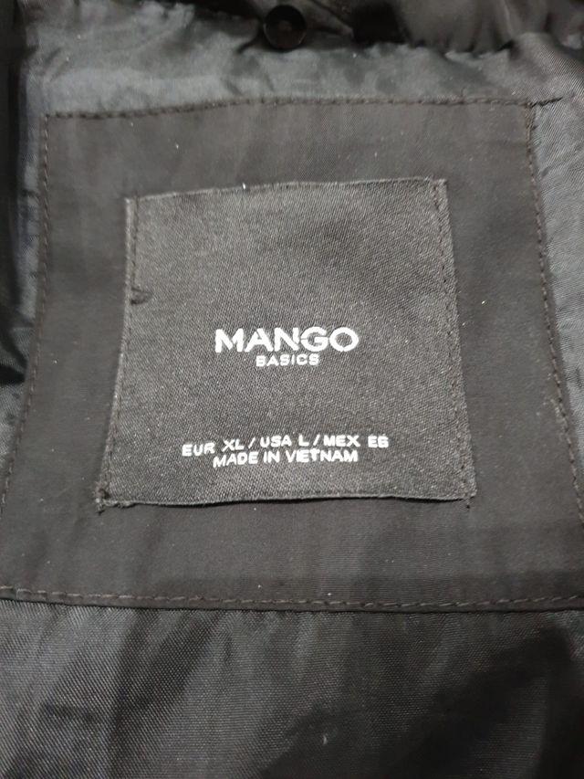 Abrigo acolchado pluma Mango