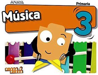 NUEVO a ESTRENAR Libro de Música 3° Anaya