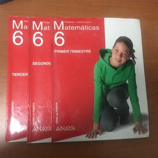 Matemática 6 primaria Anaya