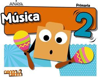 NUEVO a ESTRENAR Libro de Música 2° Anaya