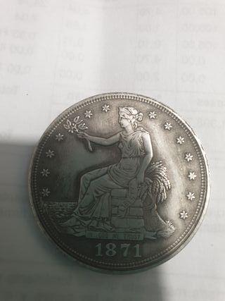 dollar 1871 plata