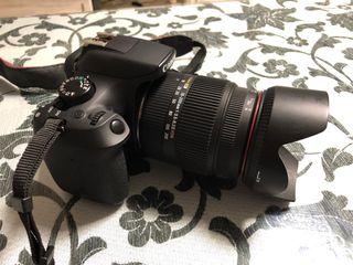 Canon 1300D + sigma 18-200