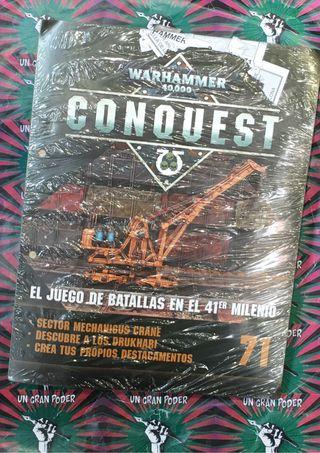 WARHAMMER 40K CONQUEST 71 SECTOR MECHANICUS CRANE