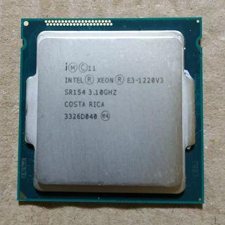 Procesador Intel Xeon e3-1220v3