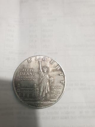 moneda dollar 1906 playa