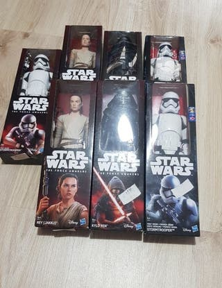 NUEVO, figuras star wars, the force awakens