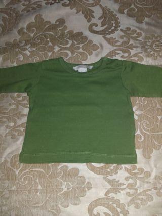 camiseta básica HM