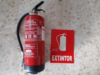 Extintor 6 kg