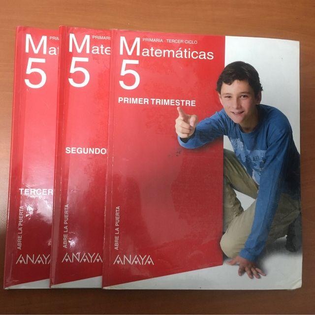 Matemáticas 5 Primaria Anaya