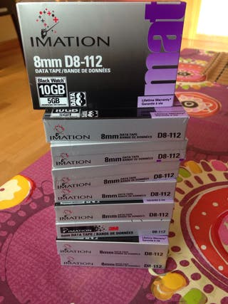 Cintas magneticas imation 8mm D8-112 10GB