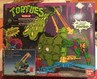 Retrocatapulta Tortugas Ninja