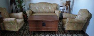 sofá y sillones vintage o antiguos