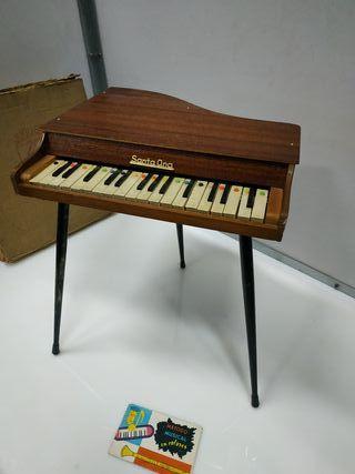 piano antiguo santa ana con instrucciones de uso