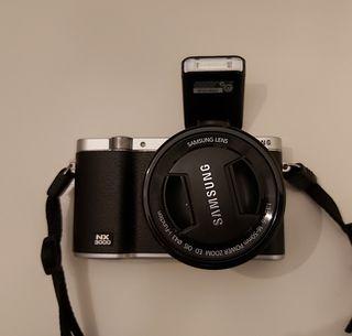 Cámara de fotos Samsung NX3000
