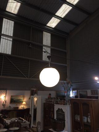 Pareja de lámparas años 60