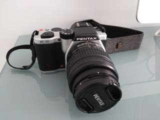 Pentax K-01 + 18-55mm