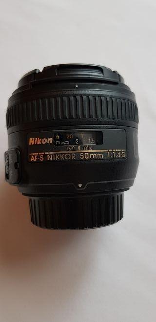 Objetivo AF-S NIKKOR 50MM f/1.4G
