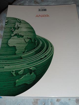 libro de geografía 2 bachillerato editorial anaya