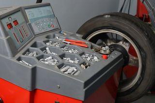 equilibradora ruedas coches taller 220v