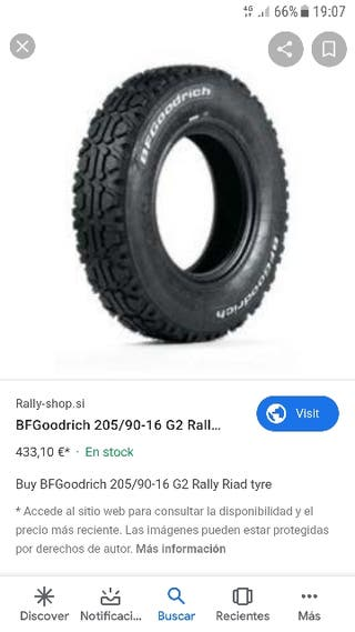 bfgoodrich G2 205/90 R16 competicion