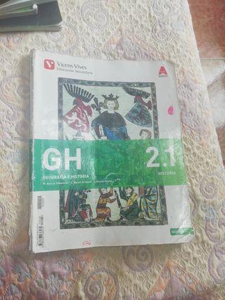 libros de geografía e historia