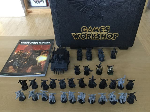 Warhammer 40K (Games Workshop - Chaos Army)