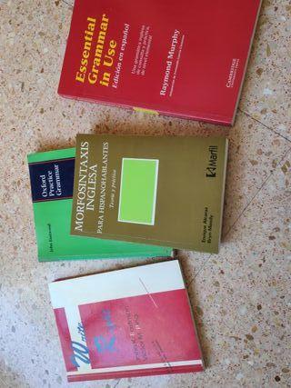 Libros gramática inglesa