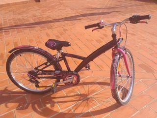 bicicleta junior niña