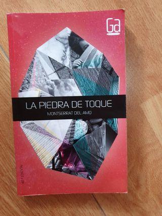 """Libro """"La piedra de toque"""" de Montserrat del alamo"""